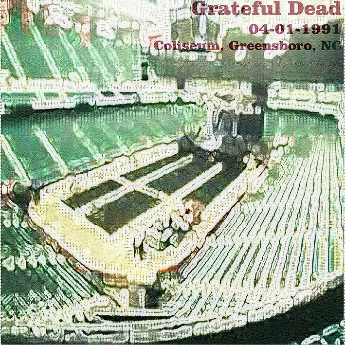 grateful dead greensboro coliseum